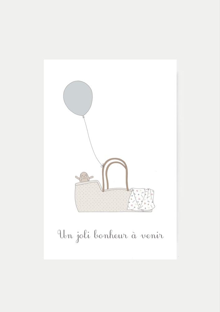Image of Carte Un joli bonheur à venir