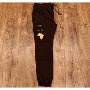 Image of 1 of 1 dark olive Queen Joggers