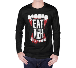 Image of Eat the Rich Long Sleeve Shirt