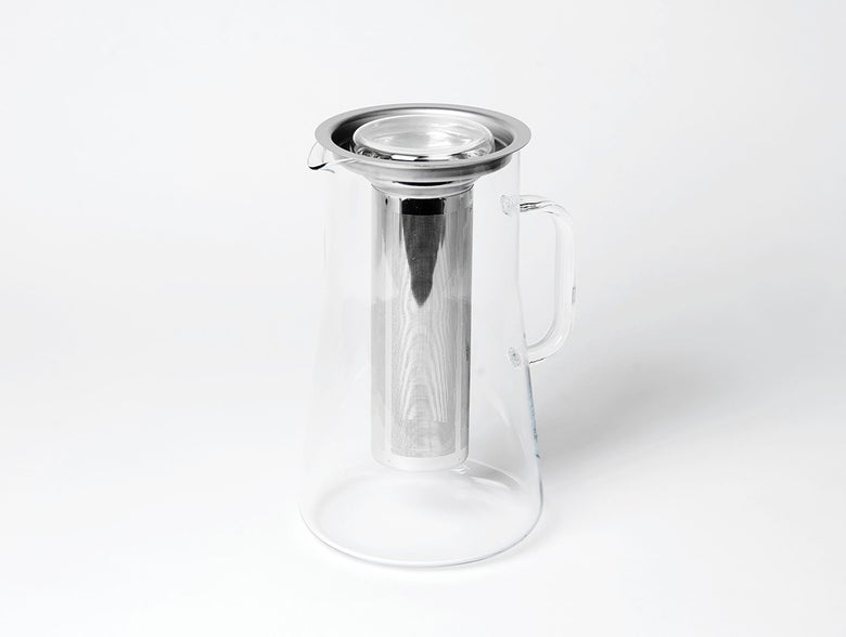 Image of Glaskrug 2.5 l mit Edelstahlfilter für Tee