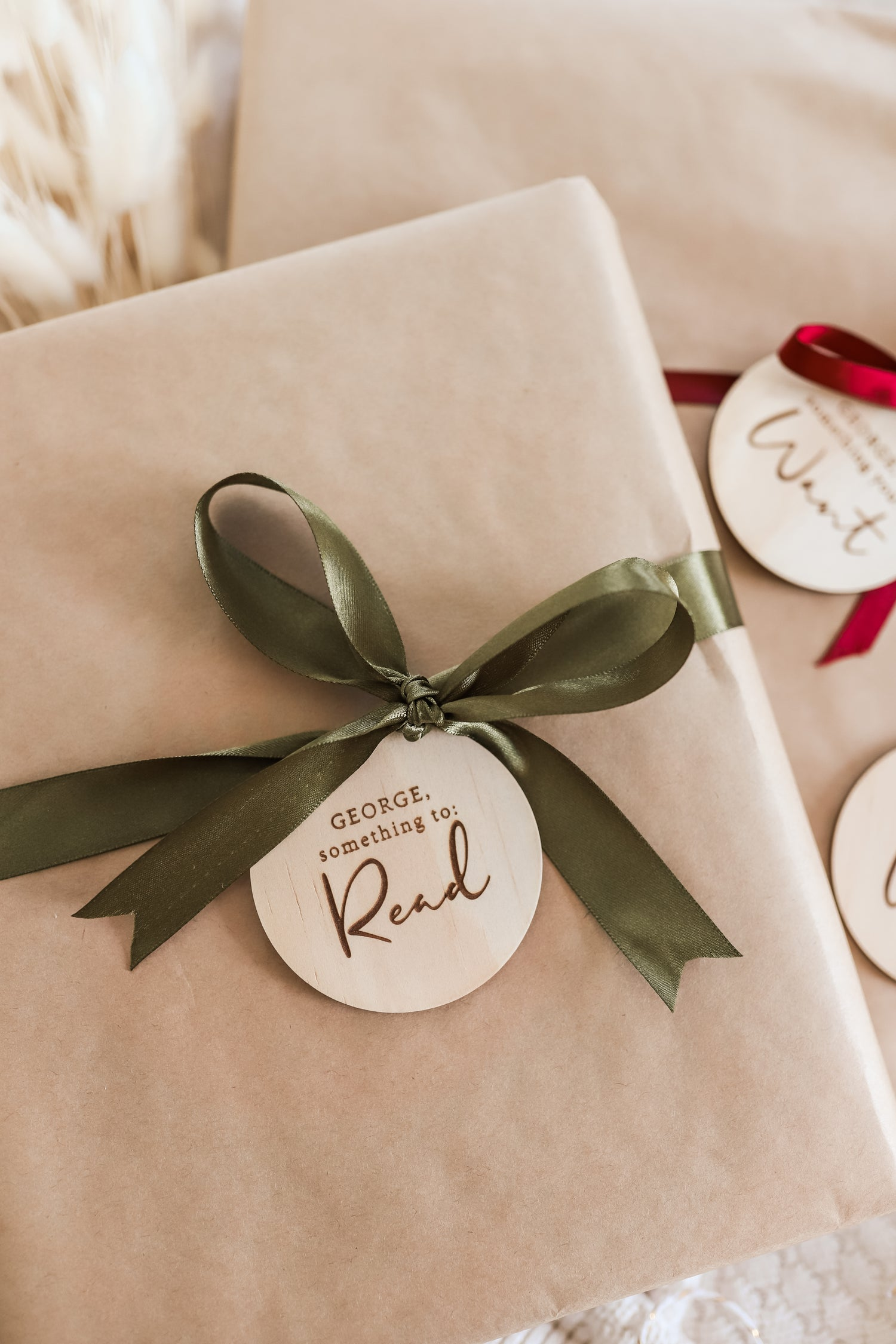 Image of PRE ORDER: Want, need, wear, read   Mindful gifting tags