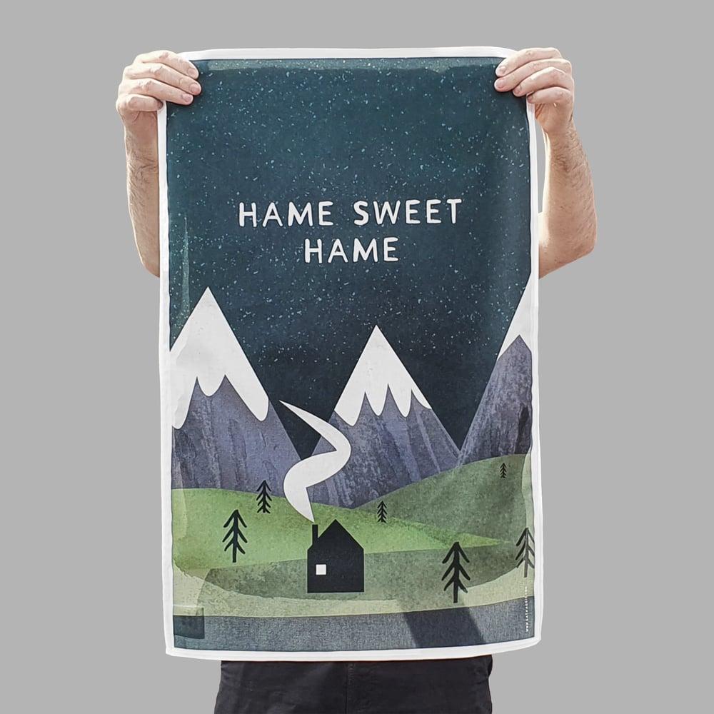 Image of 'Hame Sweet Hame' <html>  <br>  </html> (Tea Towel)