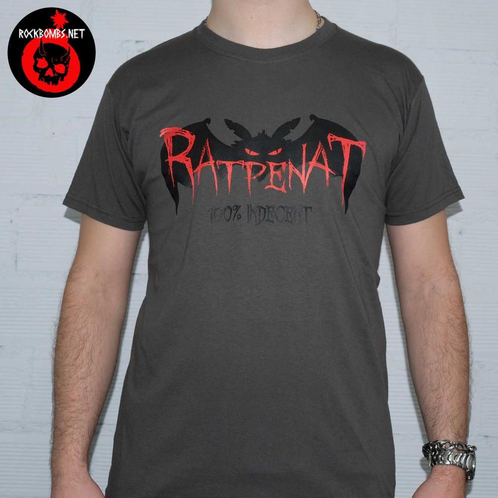 "RATPENAT - ""1oo% INDECENT"" Gris"