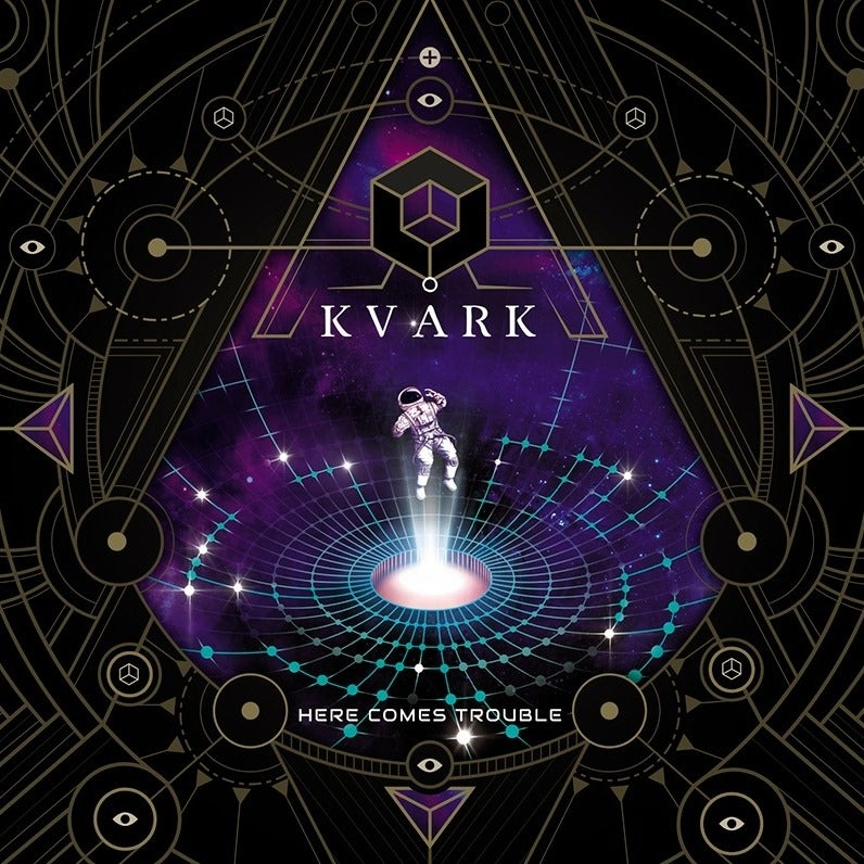 "KVÅRK - ""Here Comes Trouble"" - CD + Shirt + Button  BUNDLE - PRE-ORDER"