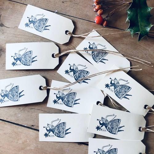 Image of Christmas Angel Gift Tags