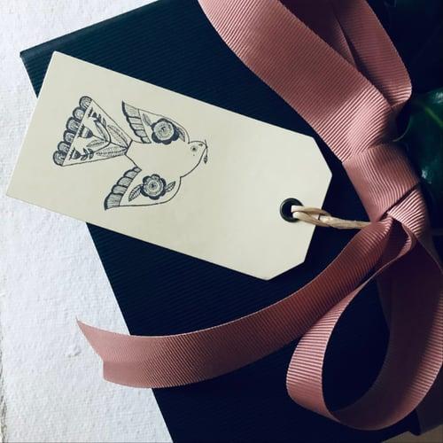 Image of Folk Bird Gift Tags