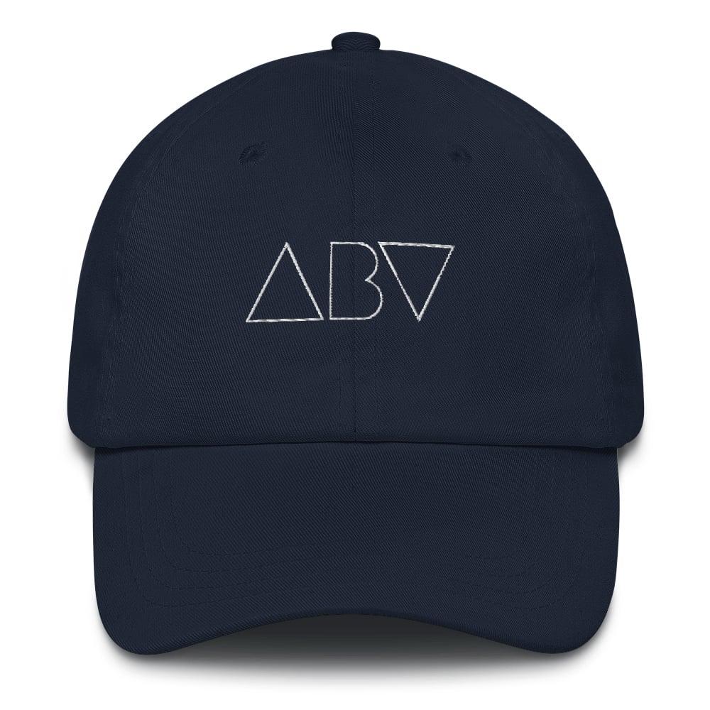 Image of ABV Logo Dad Hat - Navy