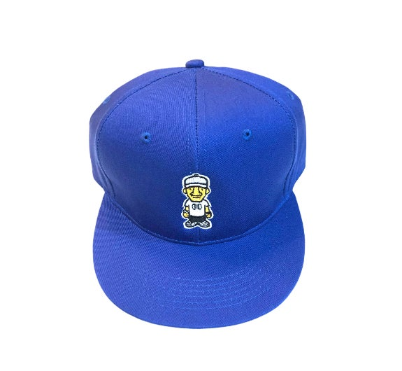 Royal Blue Character SnapBack