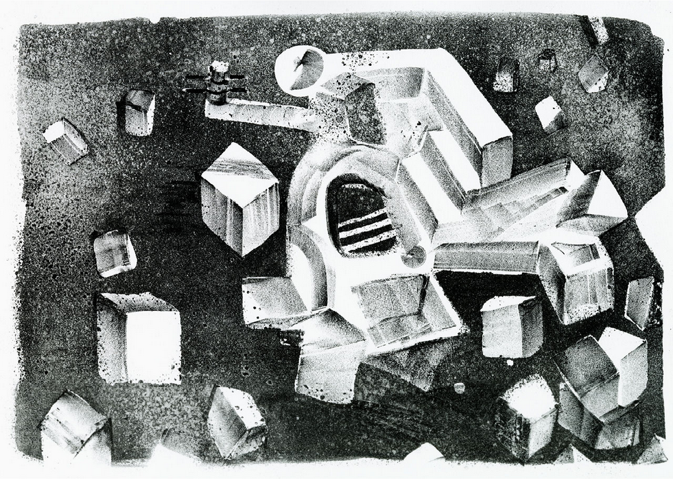 """Image of lithography """"das ungetüm""""/""""the monster"""""""