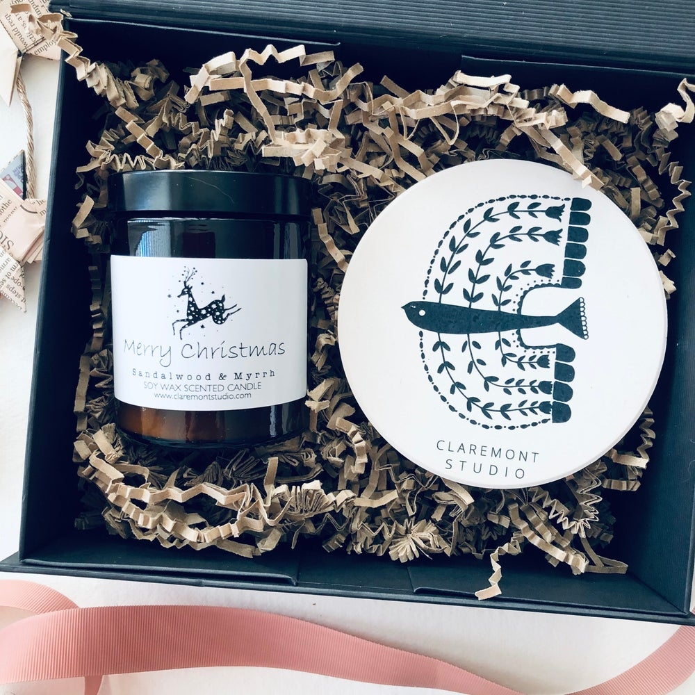 Image of Candle & Coaster Gift Set - Limited Edition