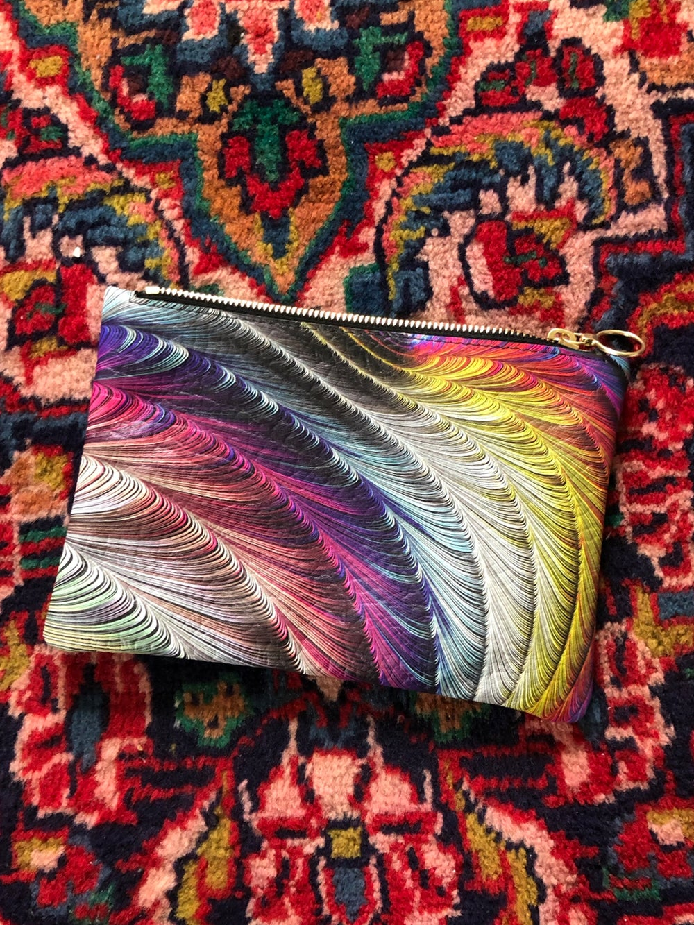 Small Leather Clutch