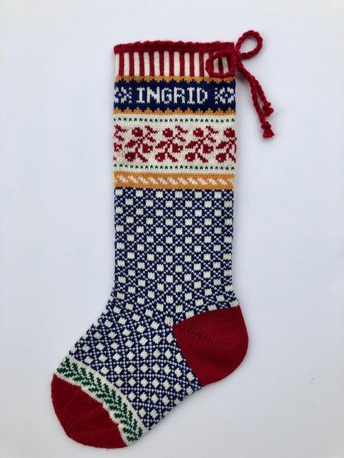 Image of Ligonberry Christmas Stocking