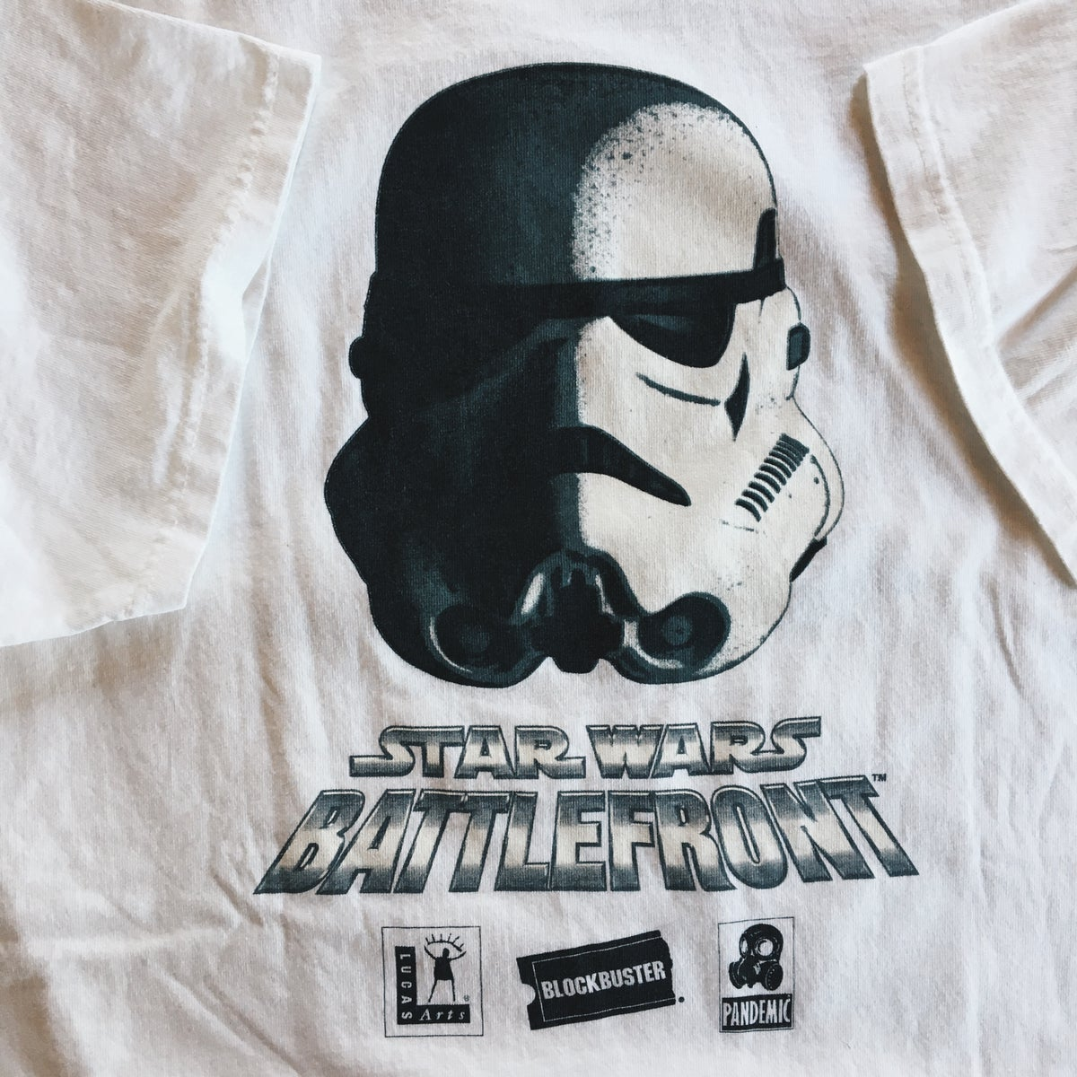 Image of Original 2004 Star Wars Battlefront Video Game Promo Tee.