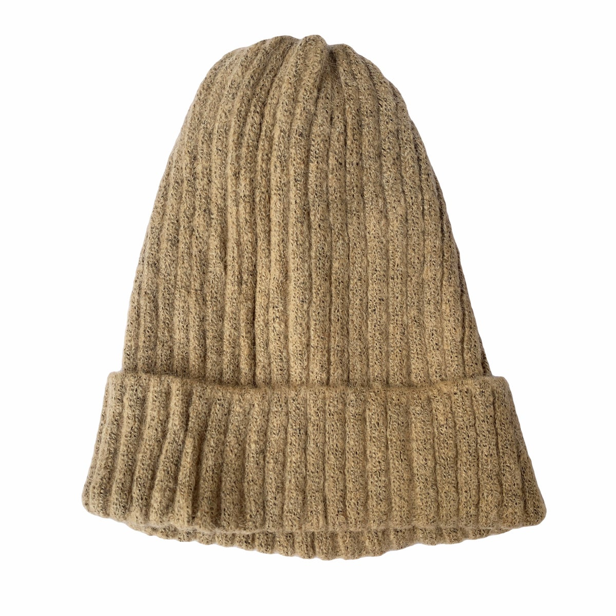 Image of Soft Fisherman's Beanie/ Watch Cap. Sand
