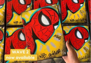 Image of Web Slinger! Wave 2 Numbered run of 10