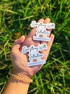 Everything With Intention Set [Acrylic Pin + Sticker]