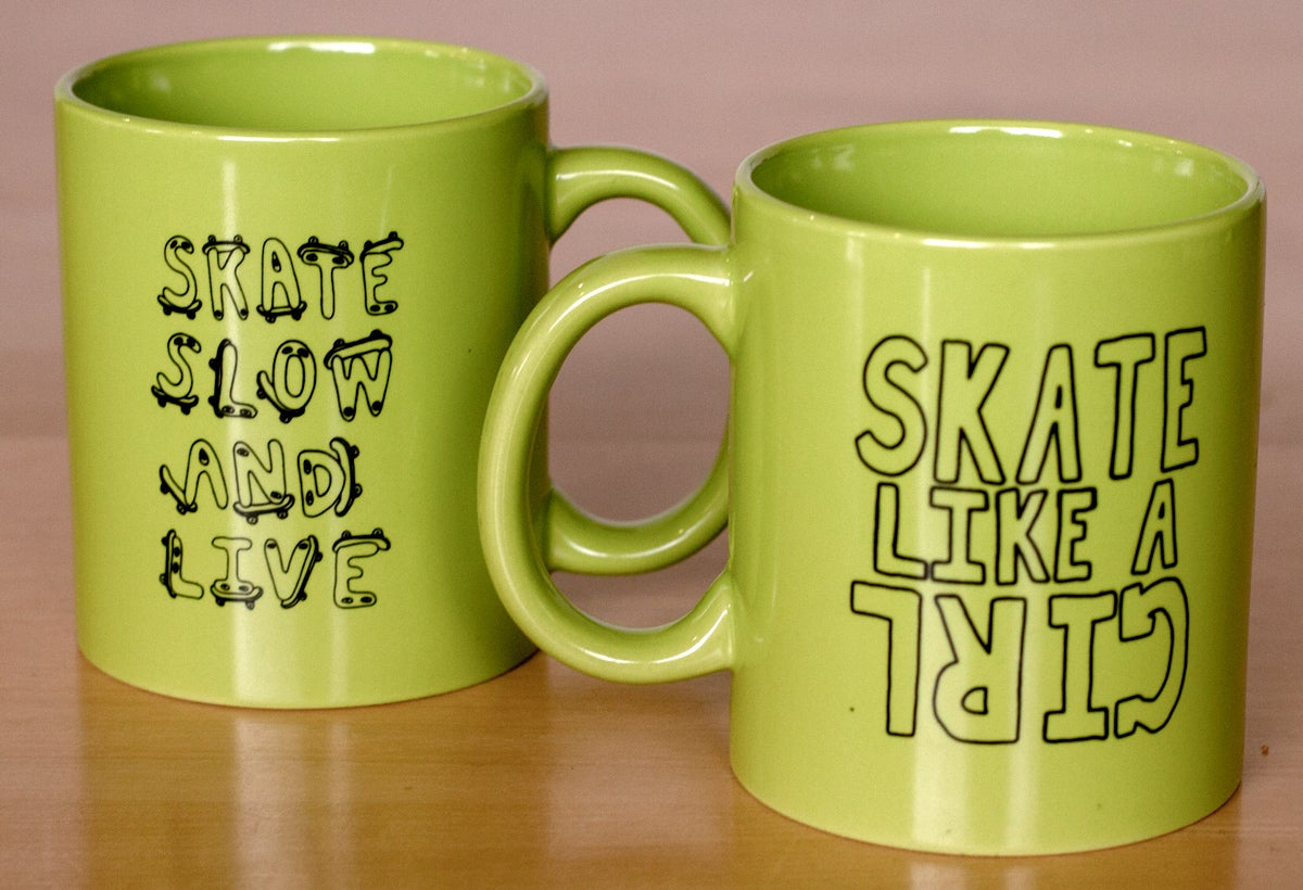 Image of Skate Slow and Live Mug