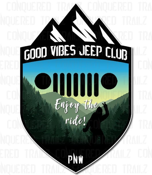 Image of Good Vibes Jeep Club