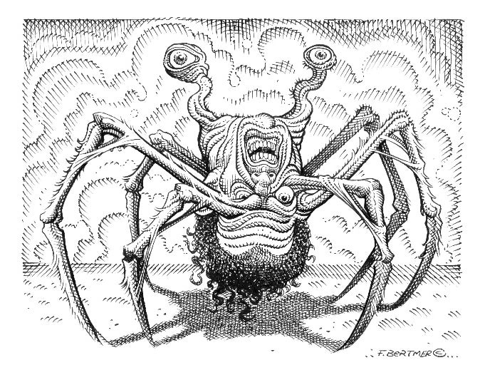 Image of Norris Spider - Original Artwork