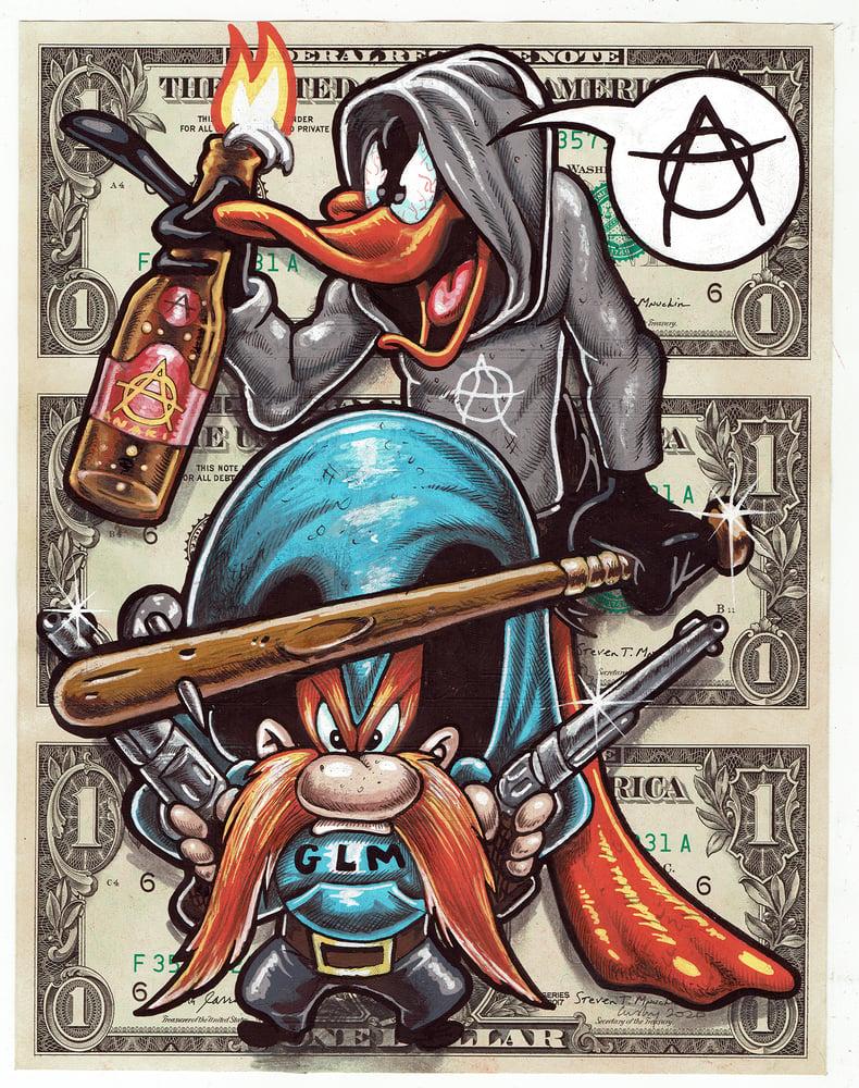 Image of Uncut Dollar Original. Ginger Lives Matter.