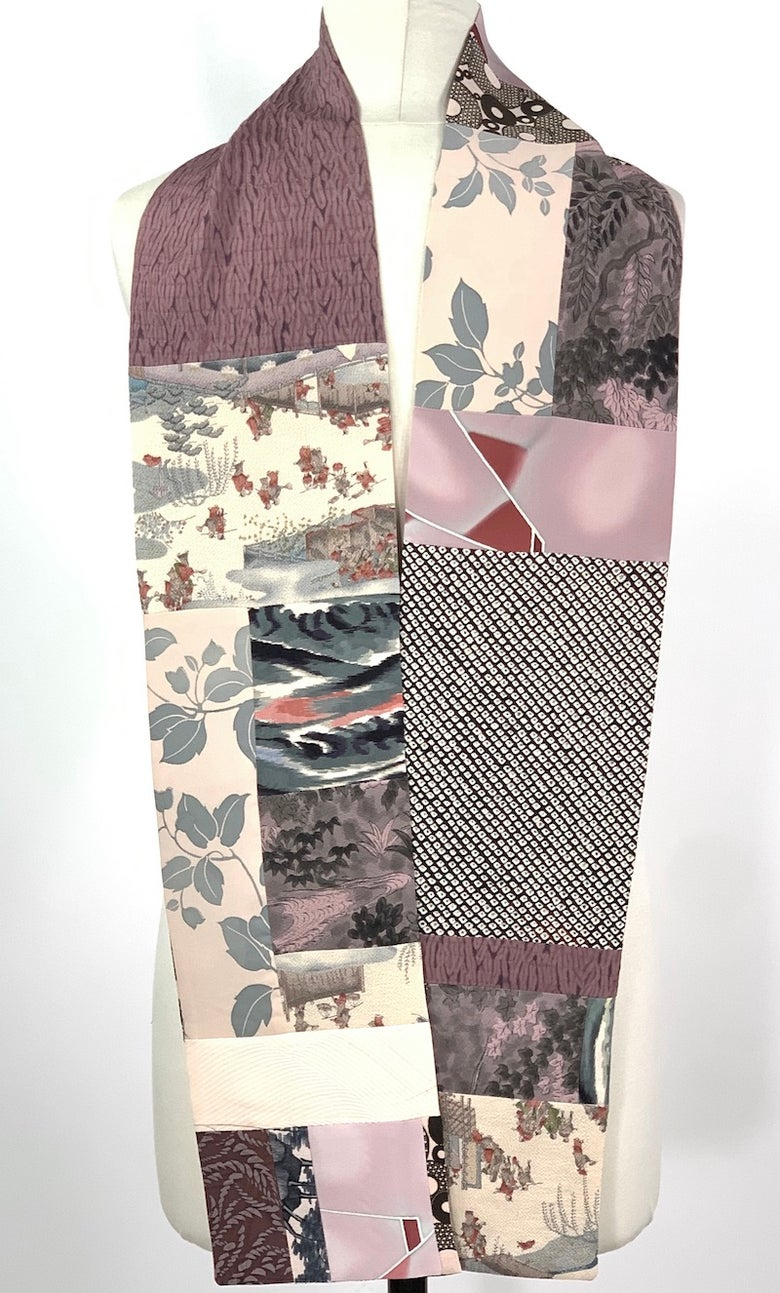 Image of Dusty Pink Village Scarf