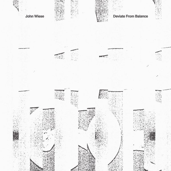 Image of John Wiese — Deviate From Balance CD