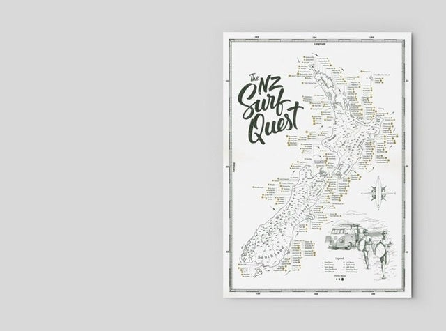 Surf Quest Poster