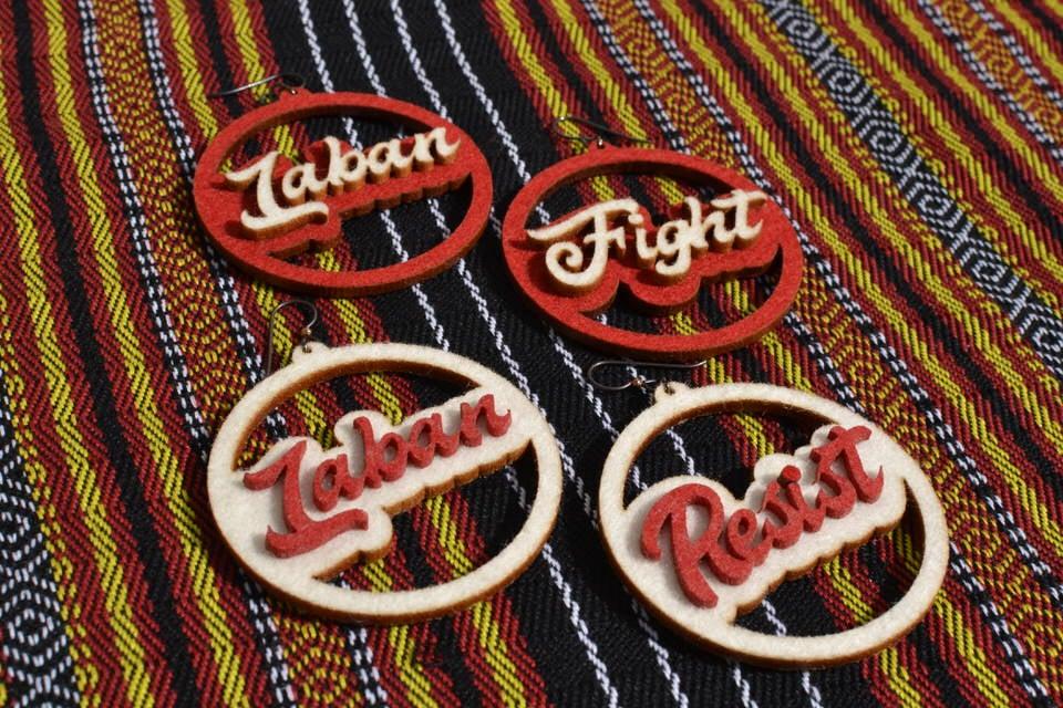 Image of LABAN // RESIST // FIGHT Earrings Pre-Order