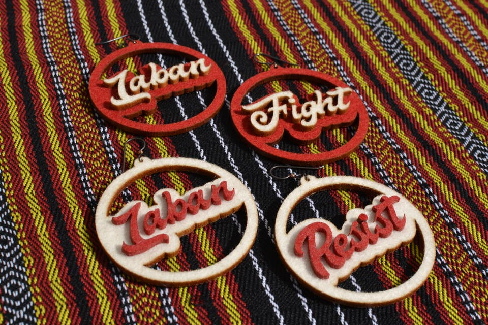 Image of LABAN // RESIST // FIGHT Earrings