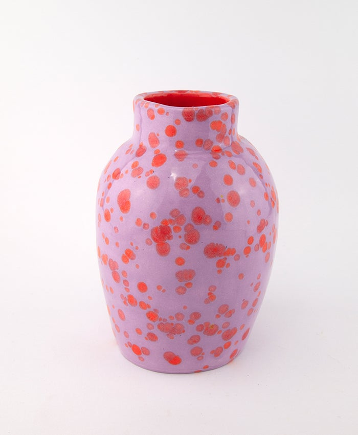 Lilac Red Spots Large Bottle