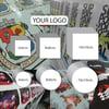 Custom Vinyl Stickers with your logo