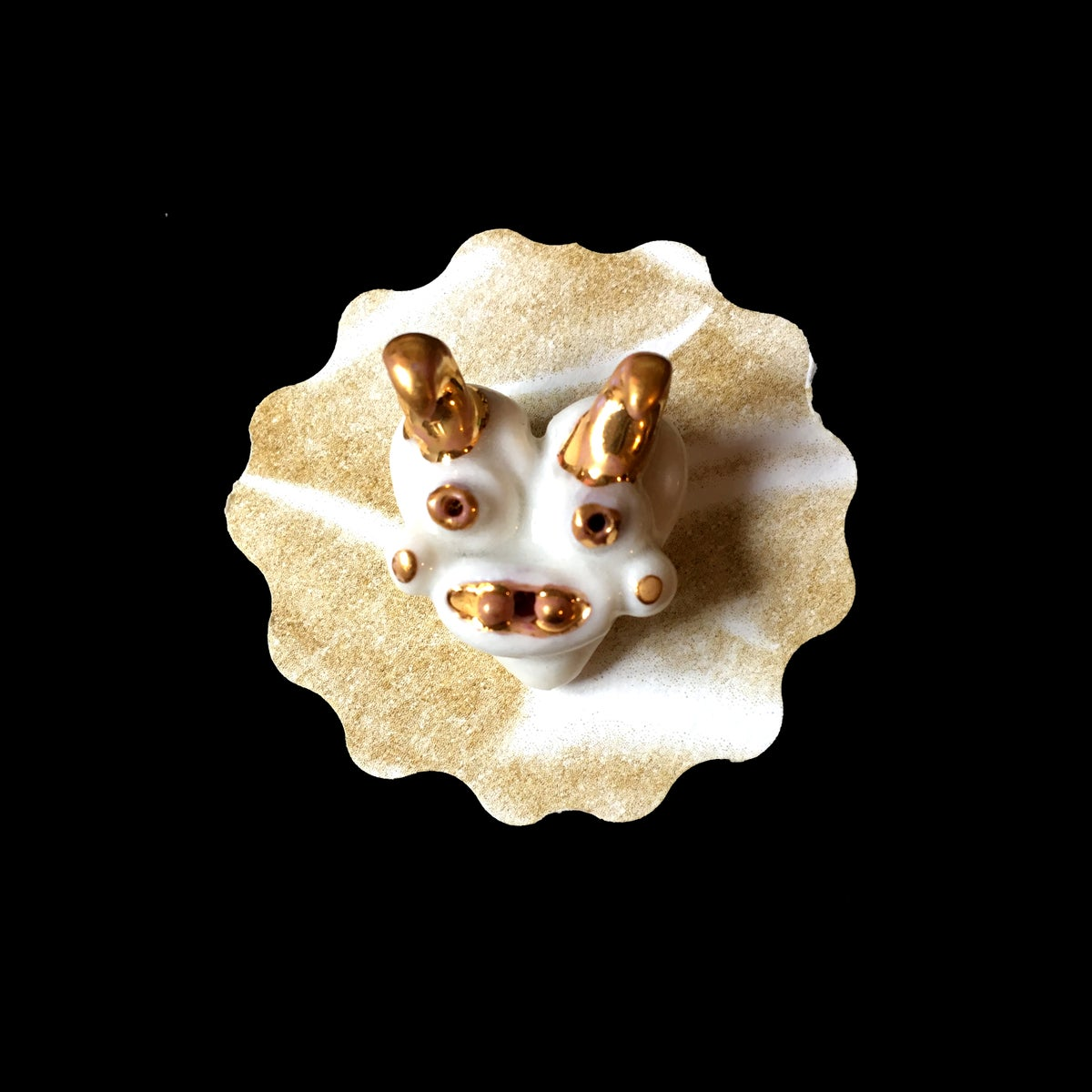 Image of Small Porcelain brooches