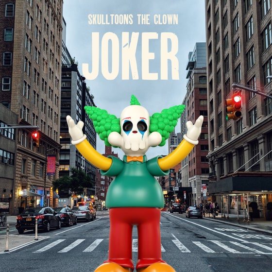 Image of [Preorder] Skulltoons The Clown - Joker edition