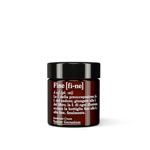 Image of FÌ-NE Deodorant Vetvier Geranium (30g Glas)