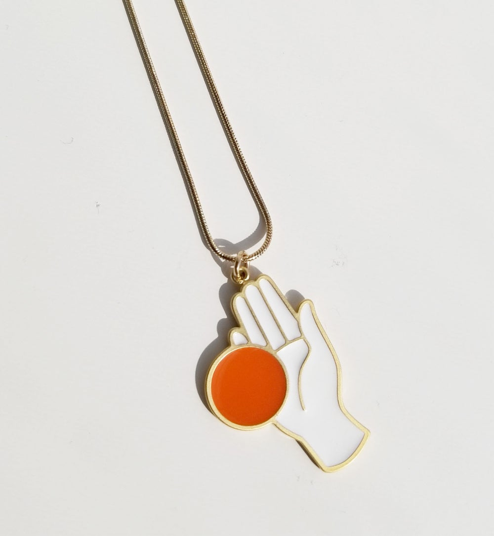 CHANCE NECKLACE • Orange