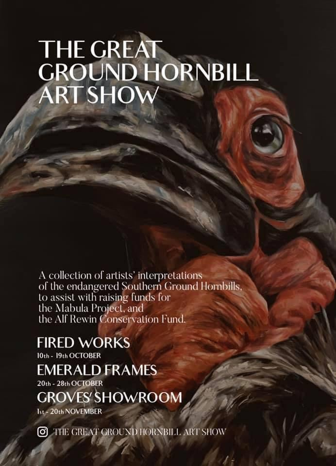 Image of The Great Ground Hornbill Art Show T shirts