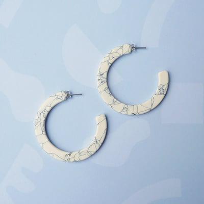 Image of *NEW* Marmaro Hoop Earrings