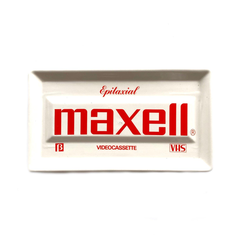 Image of Ceramic Maxell VHS Tray