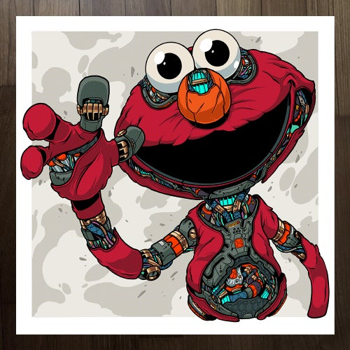 Image of MECHASOUL ELMO + COOKIE
