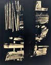 Pierre SOULAGES - Lithographie n°9, 1959