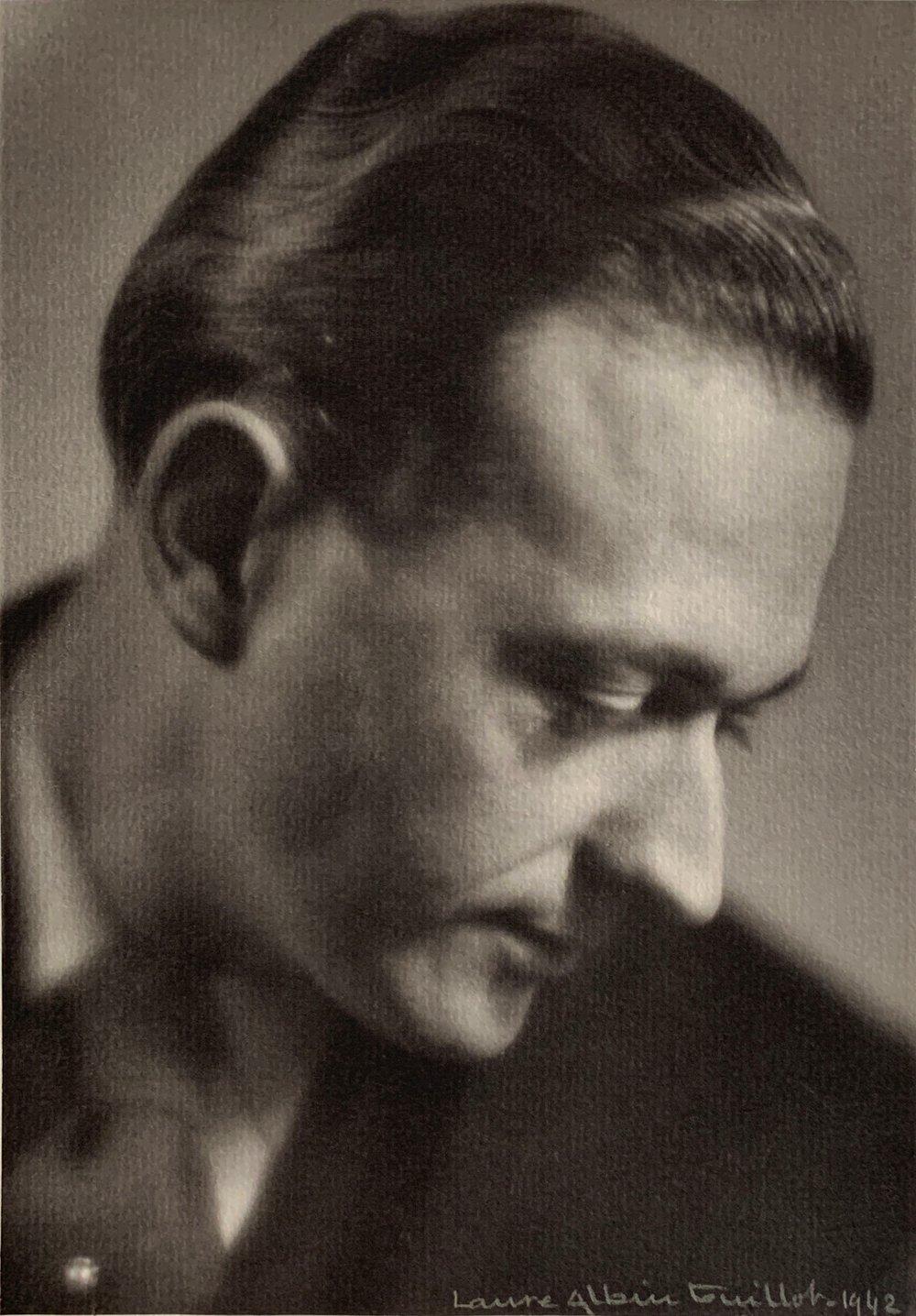 Laure ALBIN-GUILLOT - Portrait d'homme, 1942
