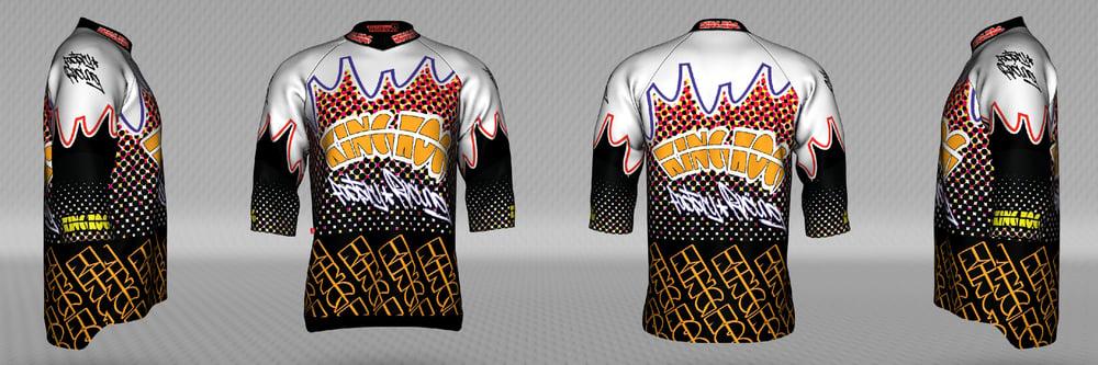 Image of KK Mountain Bike Jersey 3/4 sleeve