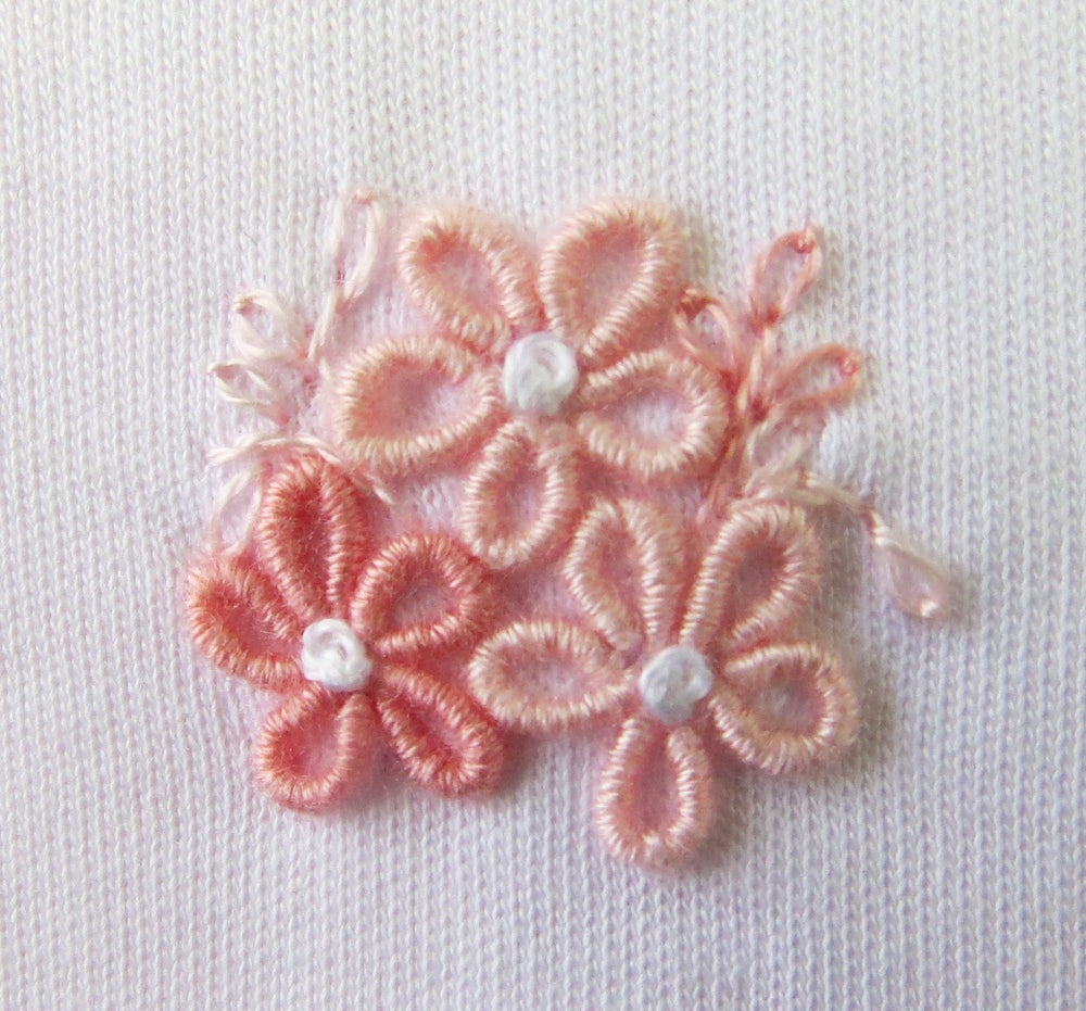 Image of Little Flowers Footie