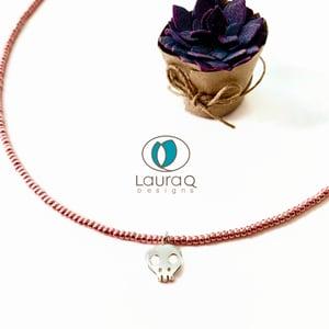 Dainty Charms on Glass Seed bead NCKs