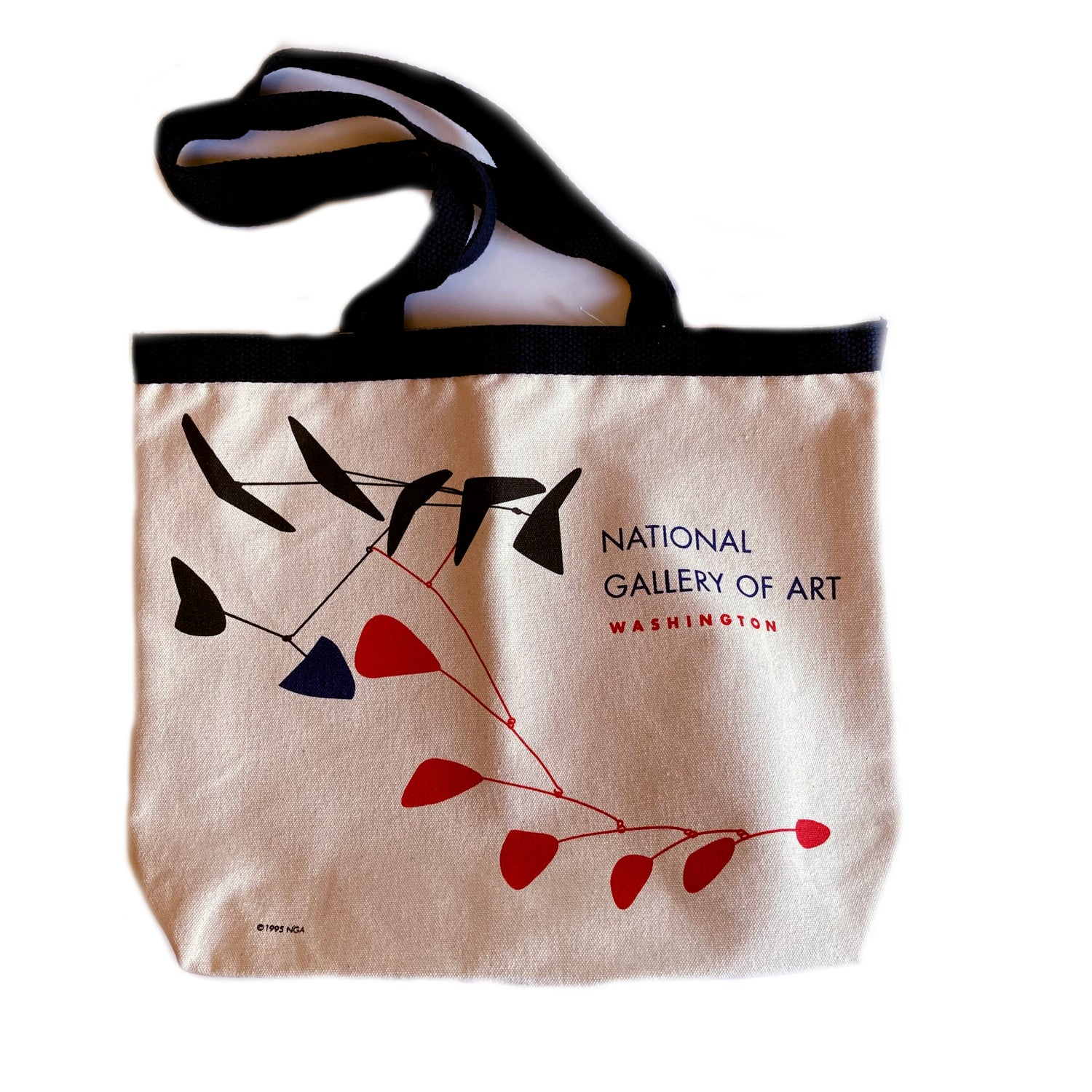 Image of Calder Untitled 1976 Canvas Tote