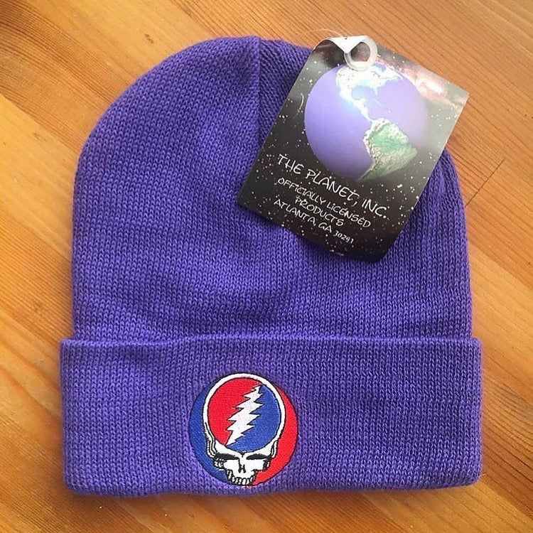 Image of SYF Original Vintage Beanie! Purple — 90's New Old Stock!