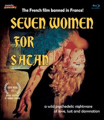 Image of SEVEN WOMEN FOR SATAN - standard edition