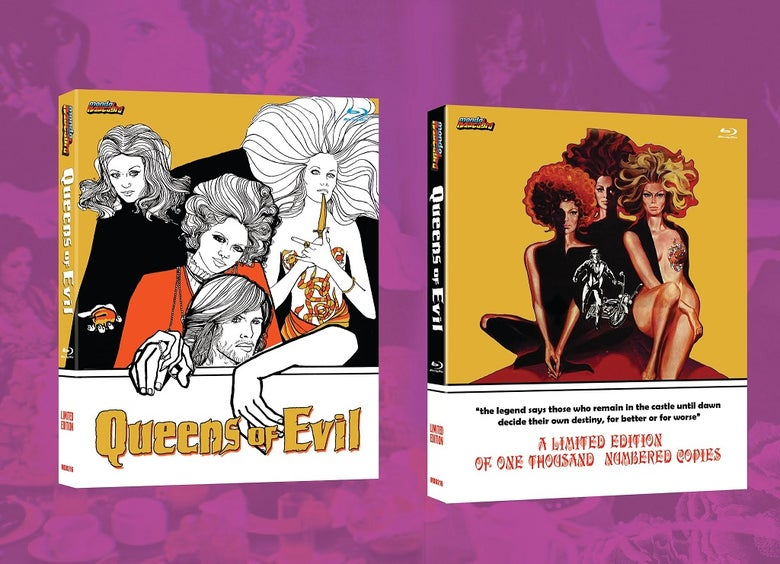 Image of QUEENS OF EVIL - Limited 2-disc Slipcover Edition