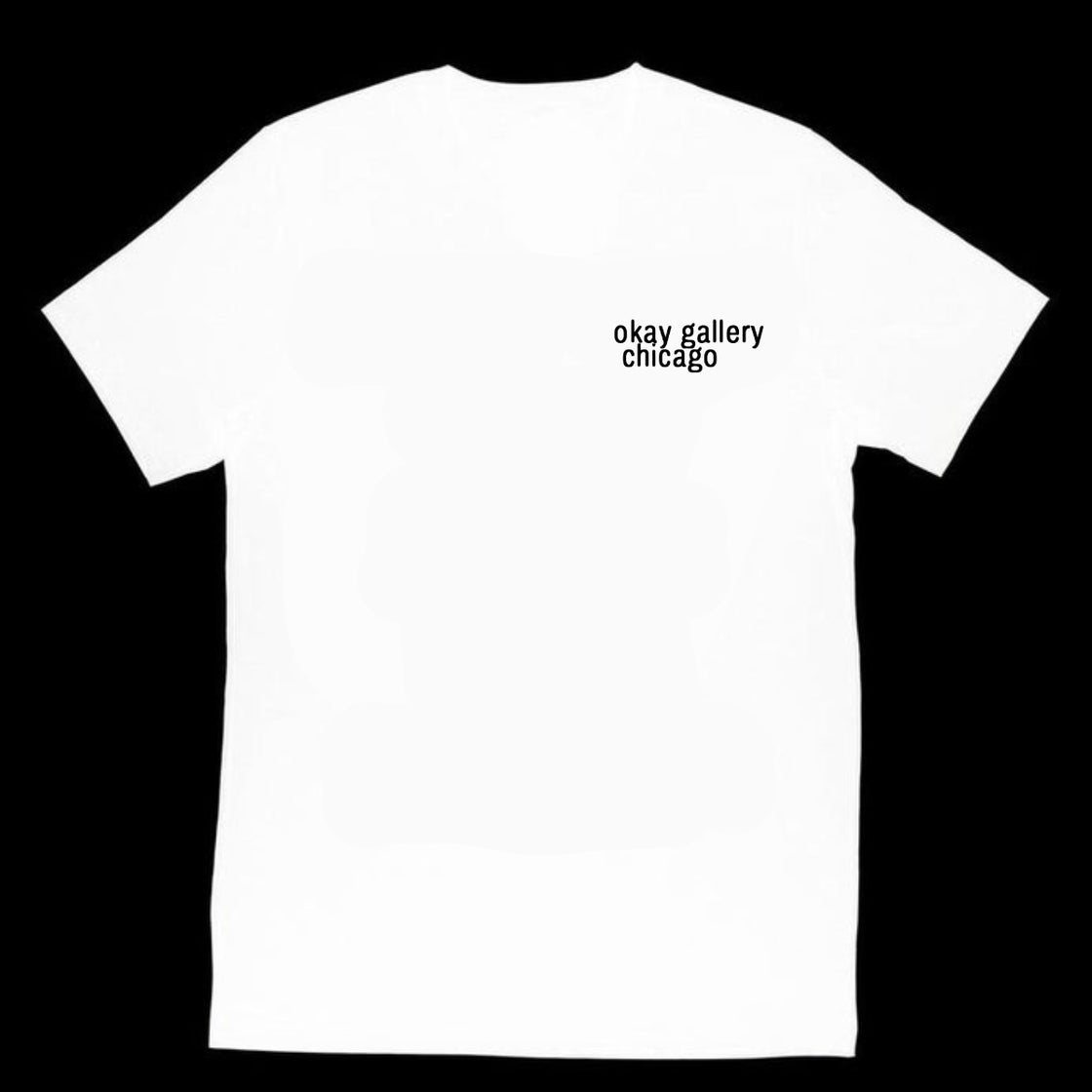 Image of okay gallery T-Shirt White