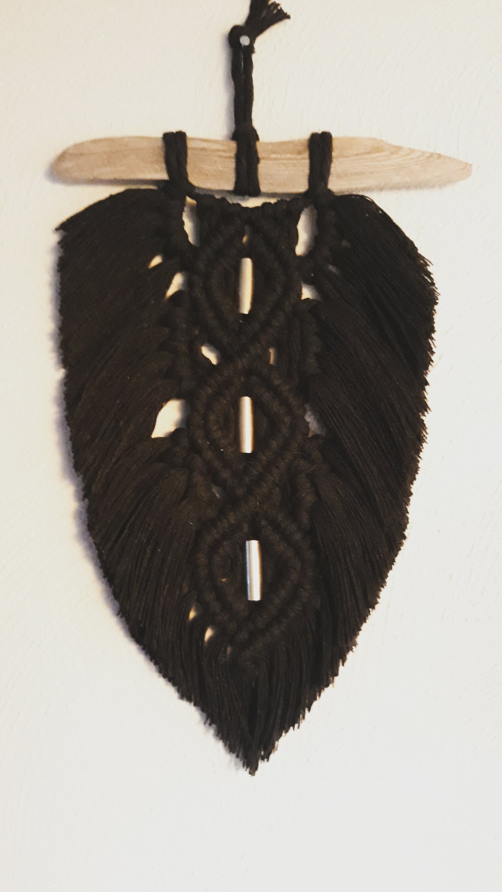Image of Noir and Copper Feather